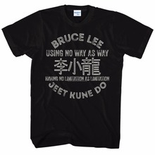 2017 Newst 100% Cotton Hot Sale T Shirt Bruce LEE Men's Jeet Kune Do T-Shirts - Several To Choose From...Sizes S-3Xl Tee Shirt(China)