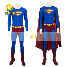 Hot Sale Superman Returns Cosplay Costume for Adult Halloween Costumes Men Superhero Superman suit