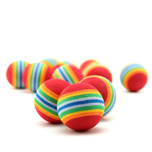 2PC/Set Small Dog Toys Hamster Ball Dog Rope Toy For Dog Tennis Ball Pet Shop Dog Accessory Goods For Pets Toy Perros Puppies(China)