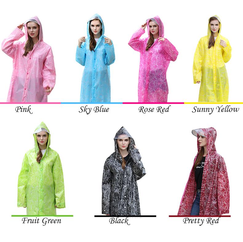 Women Lace Raincoats 12