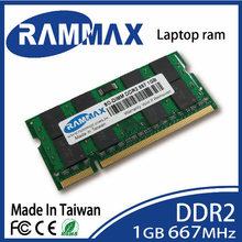Brand sealed SO-DIMM 667Mhz Laptop Memory Ram 1GB DDR2 (PC2-5300 200-pin/CL5/1.8v) highly match all brand motherboards of Laptop