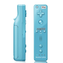 5 Color 2 in 1 Controller For Wiimote Built in Motion Plus Inside Remote Controller For Wii Game Guaranteed 100%(China)