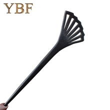 YBF Handmade YBF Brand Ebony Hair Sticks pins Chinese Casual/Sporty Styling Make up Tool Bridal Spiral Feather Fan Hairsticks(China)