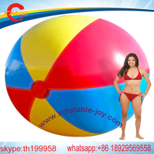 Giant  Inflatable Colorful Toys Ball Inflated Beach Balls Outdoor Fun Sport Toys Water Toys for Swimming Party Game Props Gift