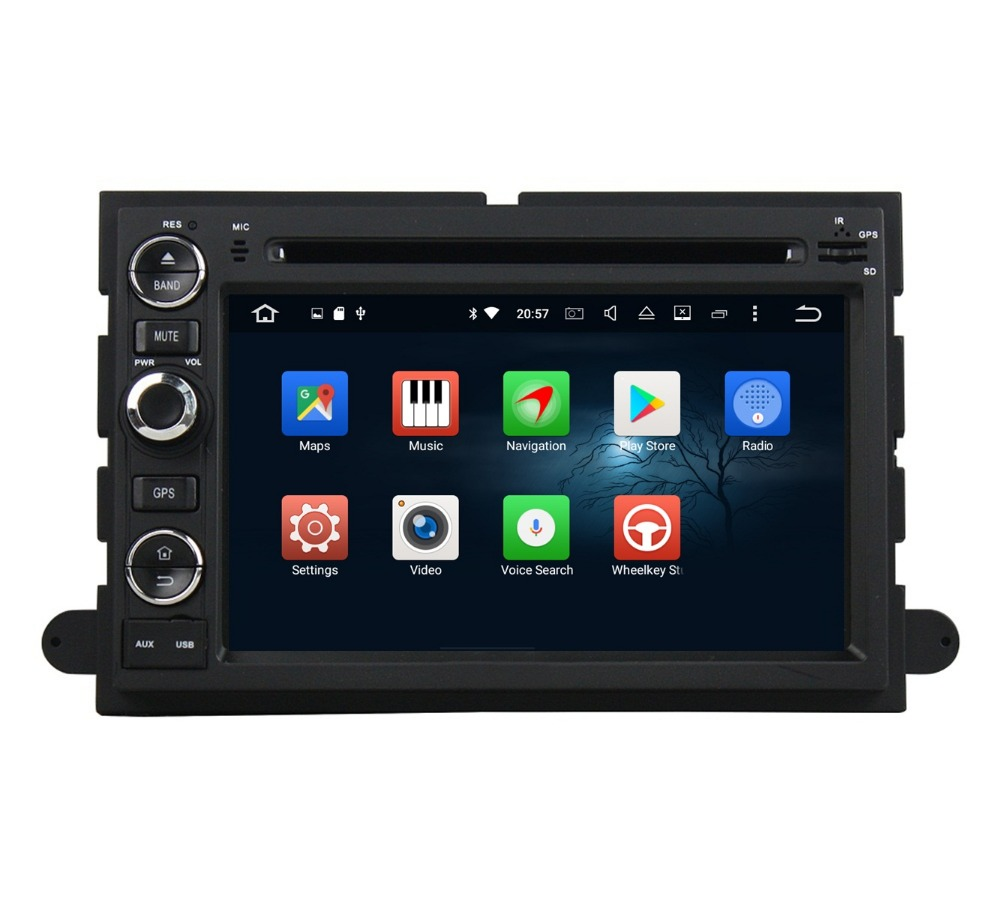 2GB RAM 7″ Octa Core Android 6.0 Car Audio DVD Player for Ford Fusion Explorer F150 Edge Expedition Radio GPS WIFI Bluetooth USB
