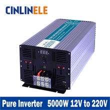 Smart Series Pure Sine Wave Inverter 5000W CLP5000A-122 DC 12V to AC 220V 5000W Surge Power 10000W