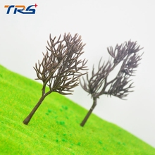 6cm-10cm model making architecture mini model tree trunk ho, n ,g scale model train layout miniature plastic model tree arm