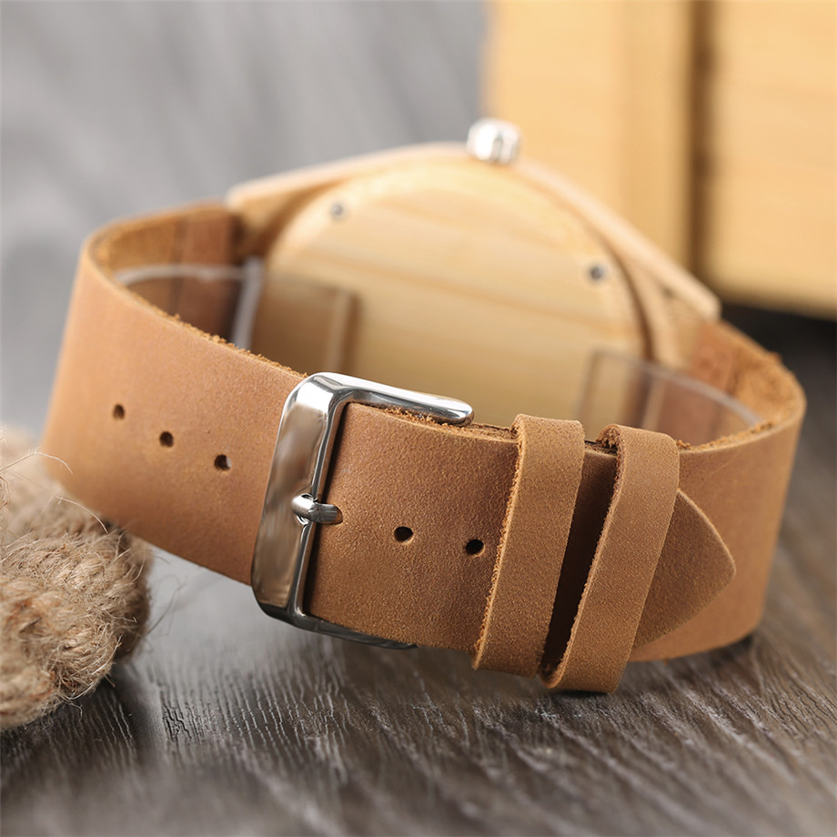genuine leather band creative watches for men23