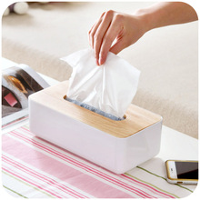 Creative hit the color texture of tissue boxes, paper towel oak fashion tissue pumping storage box