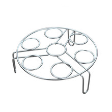 Saingace Steamer rack insert stock pot steaming tray stand Stainless Steel Egg Steamers u71130(China)