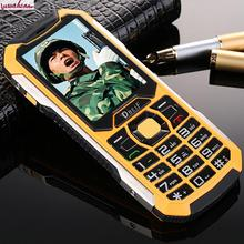 Original DBEIF C5000 Long standby flashlight power bank loud speaker cell dustproof shock dual sim card mobile phone
