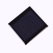 0.25W 5V Solar Panel Polysilicon Epoxy Plate Mini Solar Cell Solar Panel Outdoor Camping