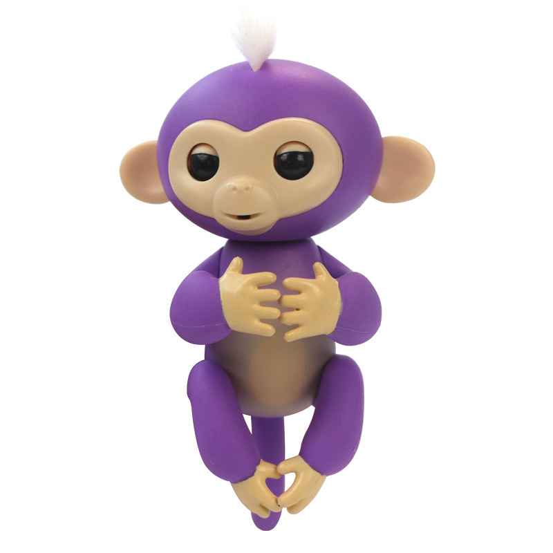 2017 New Fingerlings Interactive Baby Monkeys Toy Smart Colorful Fingers Llings Smart Induction Toys Christmas Gift Toy For Kids 7