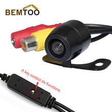 BEMTOO Car Front&Rear View Camera Reverse Control parking line &Image upside down/left and right reversal parking Camera
