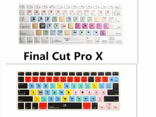 HRH Final Cut Pro X Shortcut Hotkey Silicone Keyboard Cover Skin For Old Macbook  Air Pro Retina 13 15 17 Release Before 2016