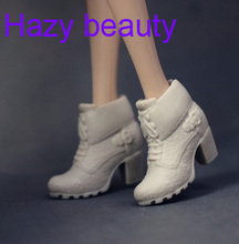 Hazy beauty New different styles for choose Casual High heel shoes Flat Boots for Barbie Doll Fashion Cute Newest BBI00802(China)