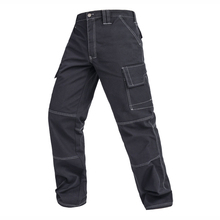 Men working pants multi-functional pockets work tool trousers high quality wear-resistant worker mechanic cargo pants work wear(China)