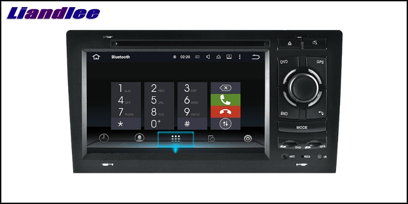 Liandlee Car Multimedia Player NAVI For Audi A8 S8 D2 4D 1994~2003 Car Touch Screen System Radio TV DVD Stereo GPS Navigation 8