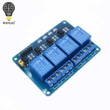 5V 4-Channel Relay Module Shield for Arduino ARM PIC AVR DSP Electronic 5V 4 Channel Relay.4 road 5V Relay Module WAVGAT