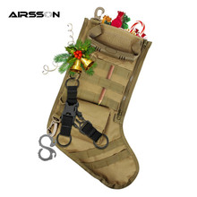 MOLLE Straps Tactical Stocking Dump Drop Pouch Military Hunting Magazine Pouches Christmas Storage Bag 2017 New(China)