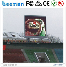 DIP football P16 outdoor led display sign full color led panel moving advertising video wall stadium mobile billboard Leeman