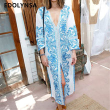 Beach Dress Kaftan Pareo Sarongs Sexy Cover-Up Chiffon Bikini Swimwear Tunic Swimsuit Bathing Suit Cover Ups Robe De Plage #Q151(China)