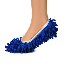 2Pcs Fashion Convenient Dust Mop Slipper House Cleaner Lazy Floor Dusting Foot Home Floor Shoes Cover Cleaning Lazy Mops 11x21cm