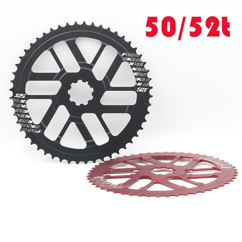 For SRAM//SHIMANO CNC 42T+16T Sprocket Freewheel Cog Cassettes w// Spacer Red