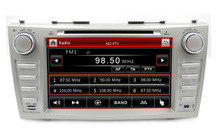 "8"" Capacitive touch screen  2din car dvd player gps navi radio tape recorder for toyota camry 2008-2011"