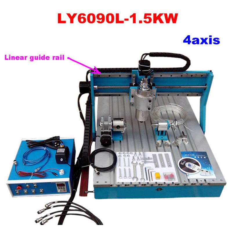 CNC 6090 4axis (5)