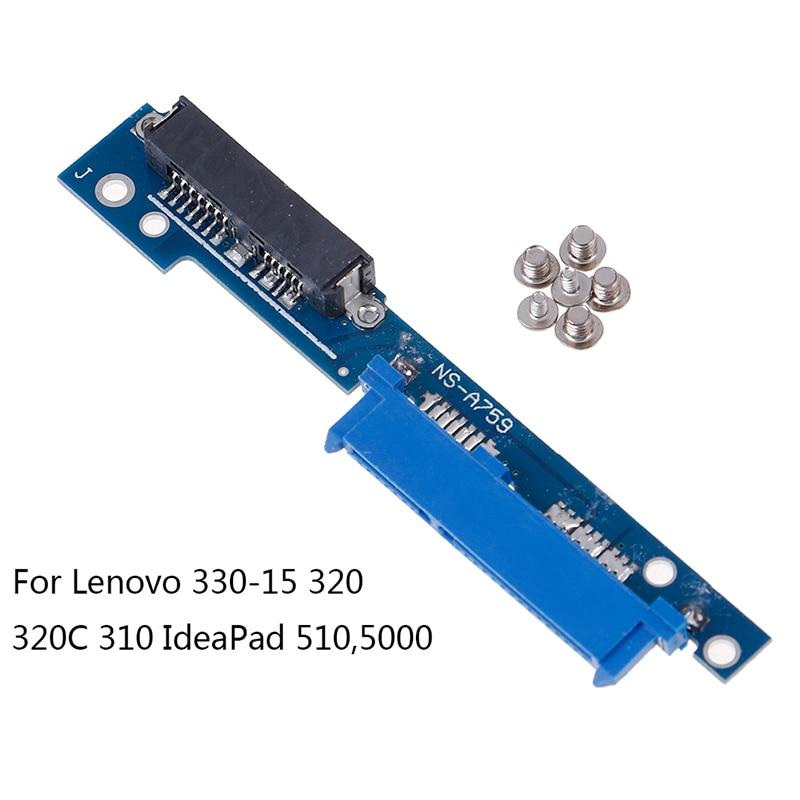 Micro SATA 13 male to SATA 22 female adapter serial converter adapter for lenovo 330-15/320/320C/310/510/110 circuit board