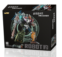 [Show.Z Store] [In Stock] Jinbao Oversized Bruticus - Original Box(Fast Shipping) Transformation WB Warbotron