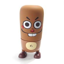Glass Cartoon Guinea Pig Thermoses 310ml Children Women Gift Cup Brown Bottle for Child Christmas Gift with Pretty Box(China)