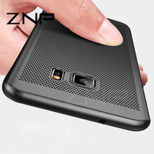 ZNP Heat dissipation Case For Samsung Galaxy S8 S7 Edge Hard Back PC Full Cover Case For Samsung S8 S8 Plus Protective Shell(China)