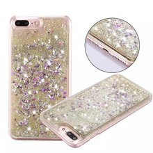 S5,S6 Edge Plus,Note 5 Dynamic Liquid Glitter Quicksand Star Plastic case for Galaxy S7 Edge, For iPhone 7 Plus ,4s 5s 6s Plus