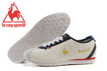 High Quality Embossed Leather Le Coq Sportif Men's Athletic Shoes,Le Coq Sportif Men's Running Shoes Sneakers White/Navy/Golden