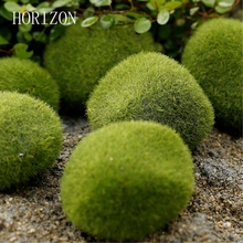 New Green Artificial Moss Stones 3 sizes to Choice Grass Bryophytes Home Garden Bonsai terrariums home decoration accessories(China)