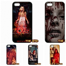 Terrible Terror Carrie 2013 Movie Cell Phone Cases Covers For iPhone 4 4S 5 5C SE 6 6S 7 Plus Galaxy J5 A5 A3 S5 S7 S6 Edge