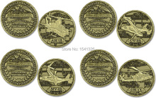 U.S. Army - Bell helicopter gunships - Bronze Challenge Coin,400pcs/lot DHL free shipping(China)