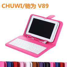 2015 8.9 Inch Original CHUWI Tablet V89 Keyboard Leather Case chuwi v89 dual boot - Jlc Store store