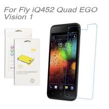 3pcs/lot For Fly iQ452 Quad EGO Vision 1,High Clear LCD Screen Protective Film Screen Guard Screen Protector Film For Fly iQ452