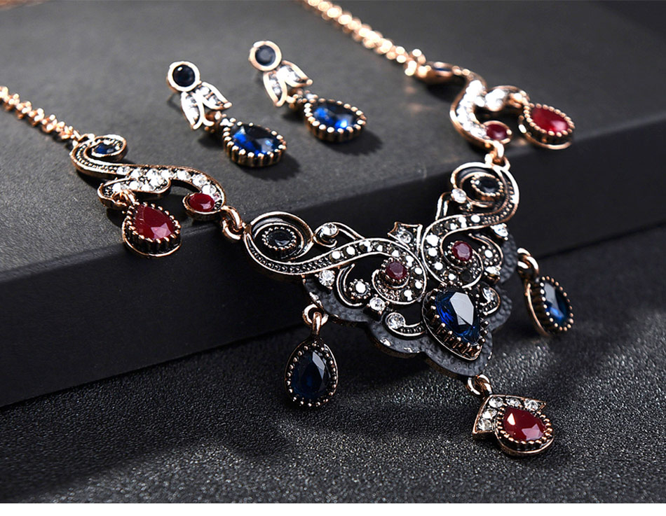 Turkish-Vintage-Jewelry-Sets-Necklace-and-Earrings_04