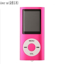 dower me1.8 Size 8GB Mp4 Player 30h Music Playing Time FM Radio Video Player Voice Recorder E-book Reading MP4 MUSIC PlayerVideo(China)