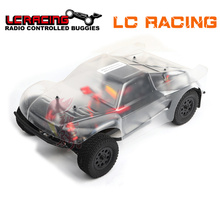 LC RACING 1:14 EMB Brushless motor Off Road 4WD RC Car SC Chassis RTR assembled Professional control toys best gift Grownups