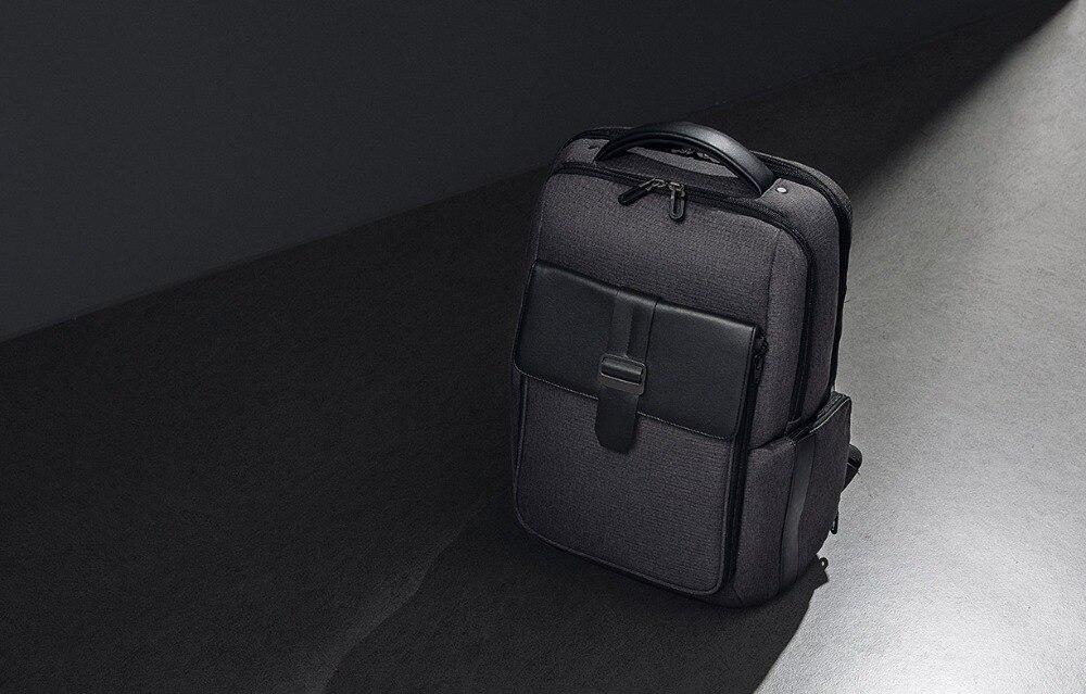 Xiaomi Fashion Commuting Waterproof backpack Removable Front Bag Big Capacity men backpacks travel backpack Laptop Bag male H0 (41)
