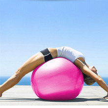Newest 55CM PVC Anti-skid Fitness Yoga Pilates Appliance Balance Ball For Weight Loss Slimming Exercise Training with Air Pump