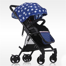 2017 Brand Car Babies Strollers Brands Folding Buggy Kids Lightweight Pram Child Folding Travel Carriage Infant China Pushchair(China)