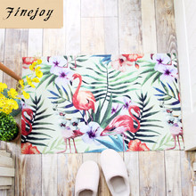 Buy fine joy 50x80 cm Floor Entrance Mats Animal Flower Printed Bathroom Kitchen Carpet House Doormats Living Room Anti-Slip Rug for $10.21 in AliExpress store