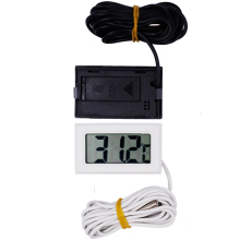 new arrive LCD Display Thermometer meter Probe Temperature tester 2m For Aquarium Freezer(China)