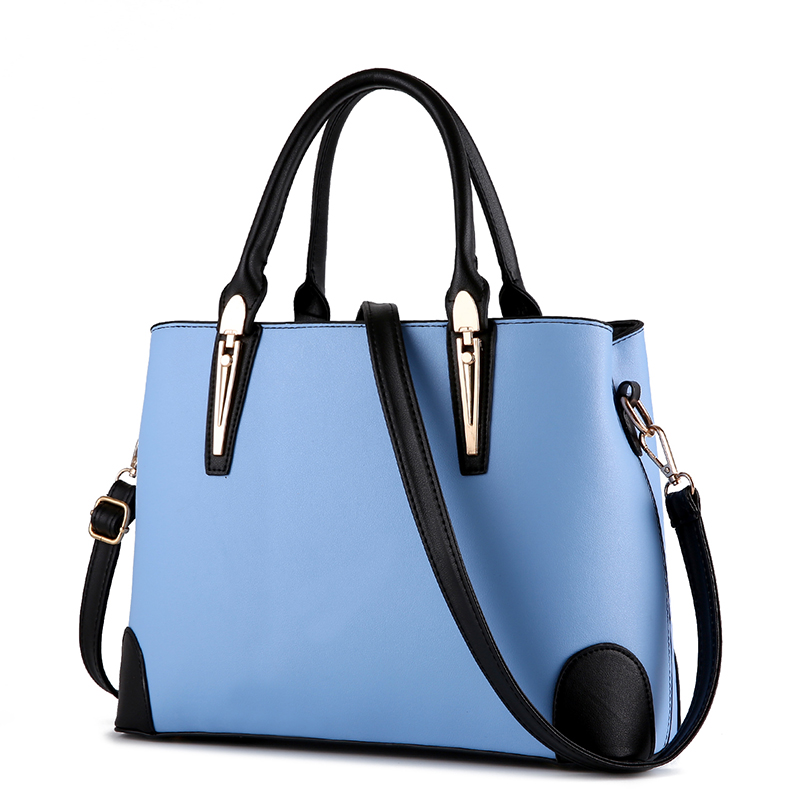 2016new women messenger bags lady tote bag fashion Mixed colors handbag ladies shoulder zipper pu crossbody bolsas femininas<br>